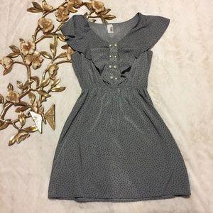 Francesca's Bird Cage Collection Polka Dot Dress S